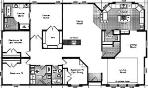 Kit manufactured homes okanogan county eastern washington for Home plans washington state