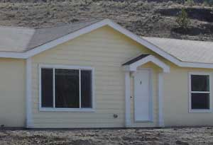 Doublewide manufactured home triple wide manufactured for Prefab eyebrow dormer